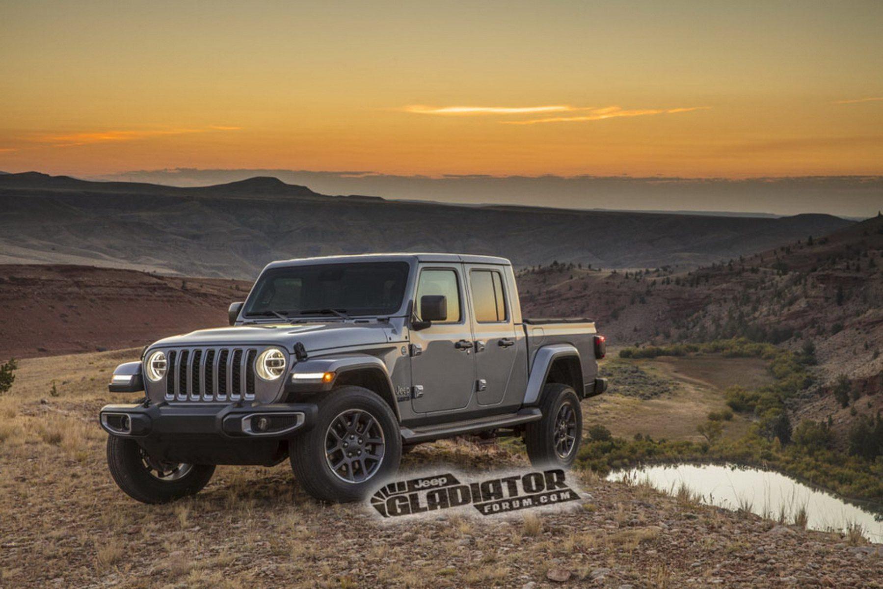 picape do jeep wrangler gladiator 4