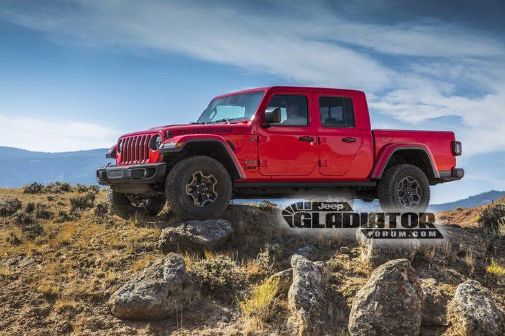 picape do jeep wrangler gladiator 5
