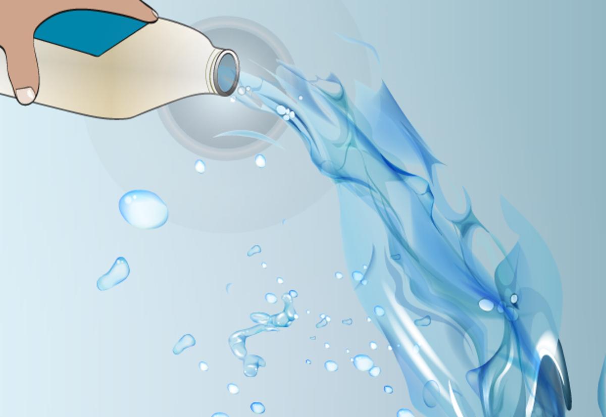 água do radiador