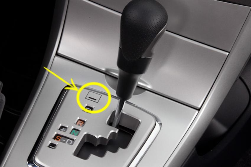 Câmbio automático travado no P