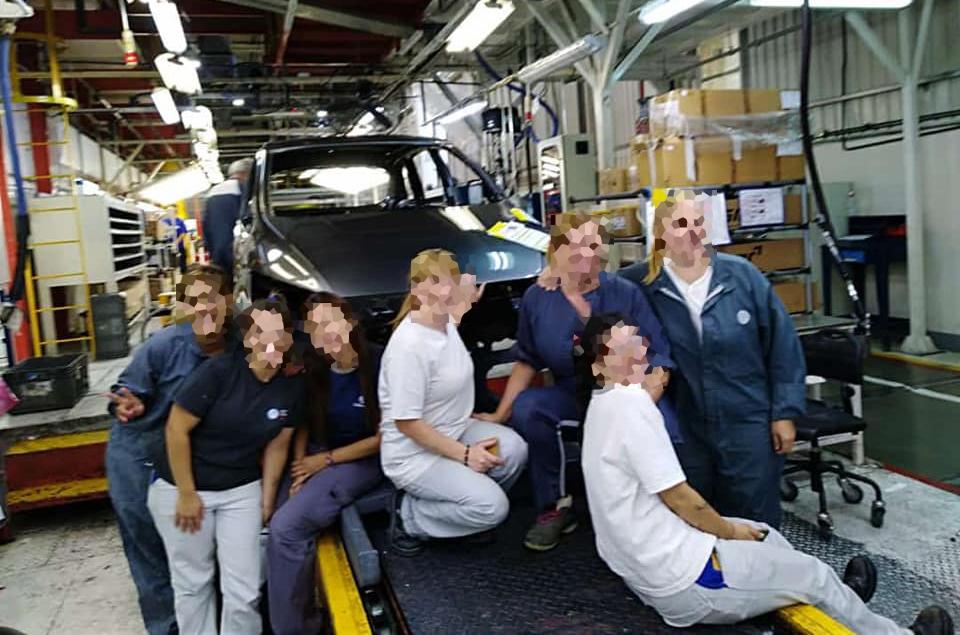 Funcionários da fábrica de Pacheco se despedem da SpaceFox