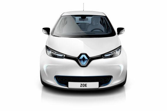 carro eletrico da renault zoe 6