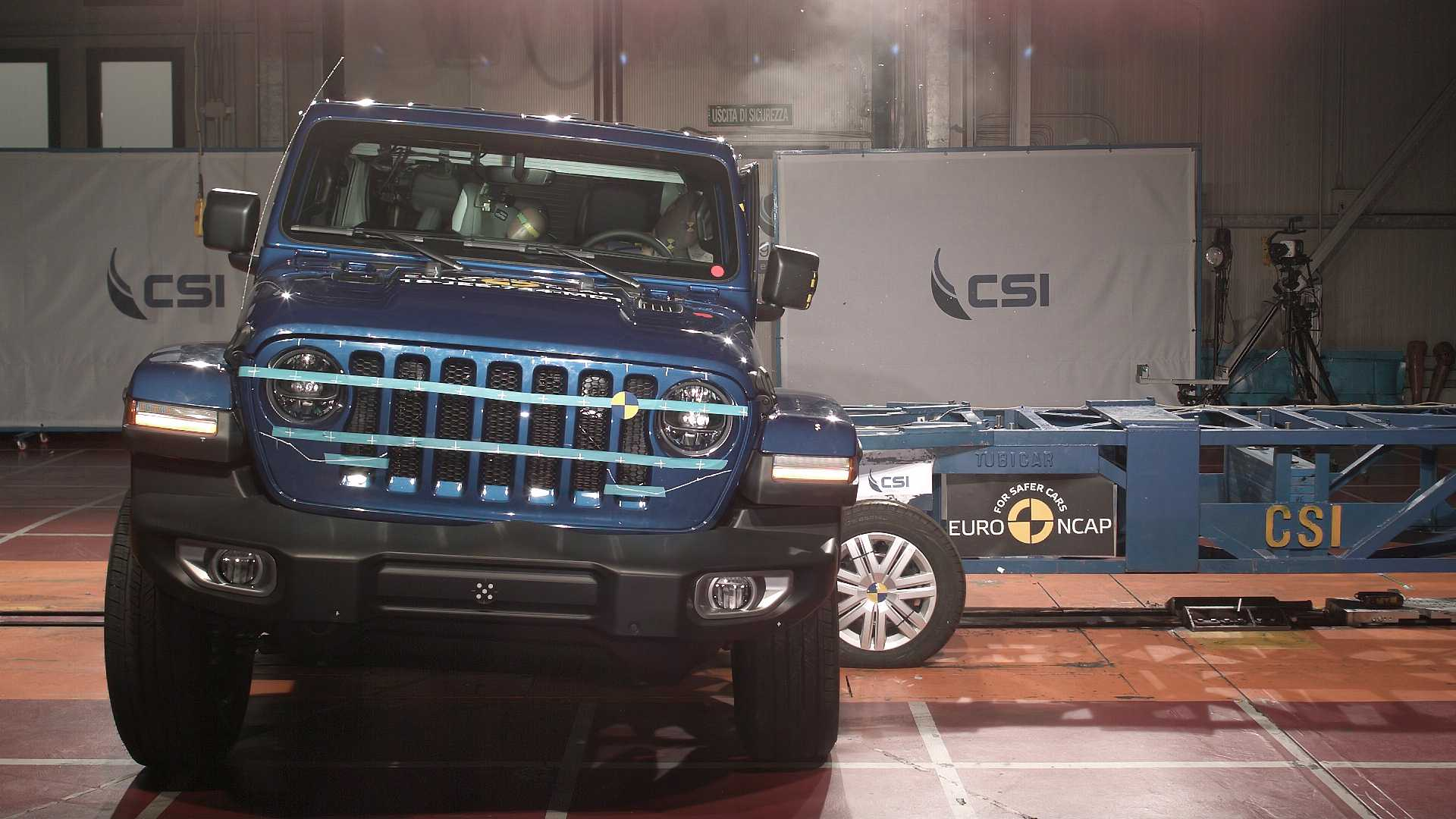nuova jeep wrangler il crash test euro ncap 1