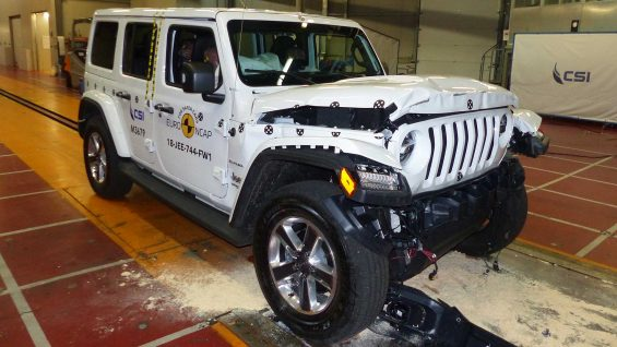 nuova jeep wrangler il crash test euro ncap 2