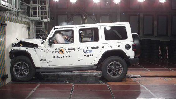 nuova jeep wrangler il crash test euro ncap 3