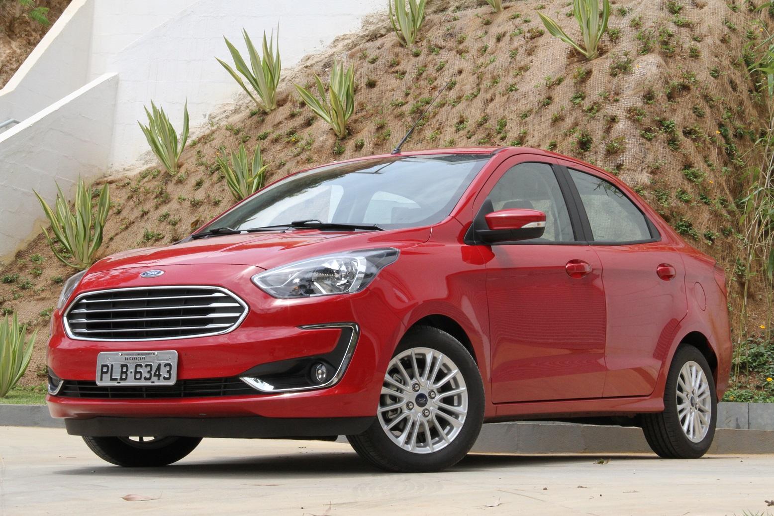 A Ford anunciou recall das unidades hatch e sedã do Ka 2019. Falha na armação do volante pode comprometer o funcionamento do airbag do modelo.