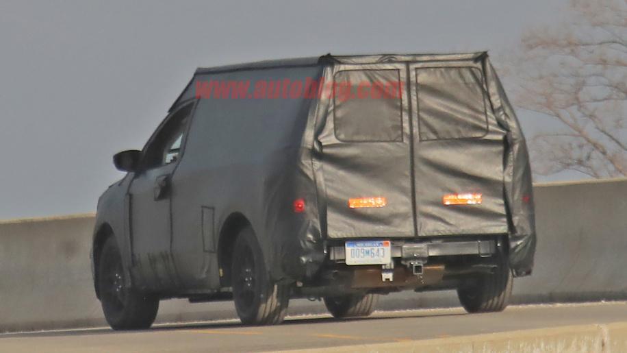 Projeto Courier: Flagra feito nos Estados Unidos mostra que Ford testa nova picape, feita para rivalizar com a Fiat Toro