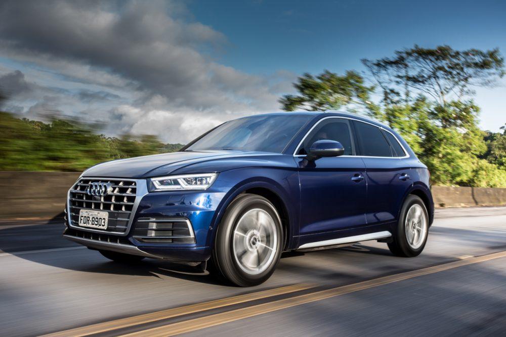 Audi Q5 blindado de fábrica, que resiste a disparos de submetralhadoras e escopetas, chega por R$ 370,9 mil