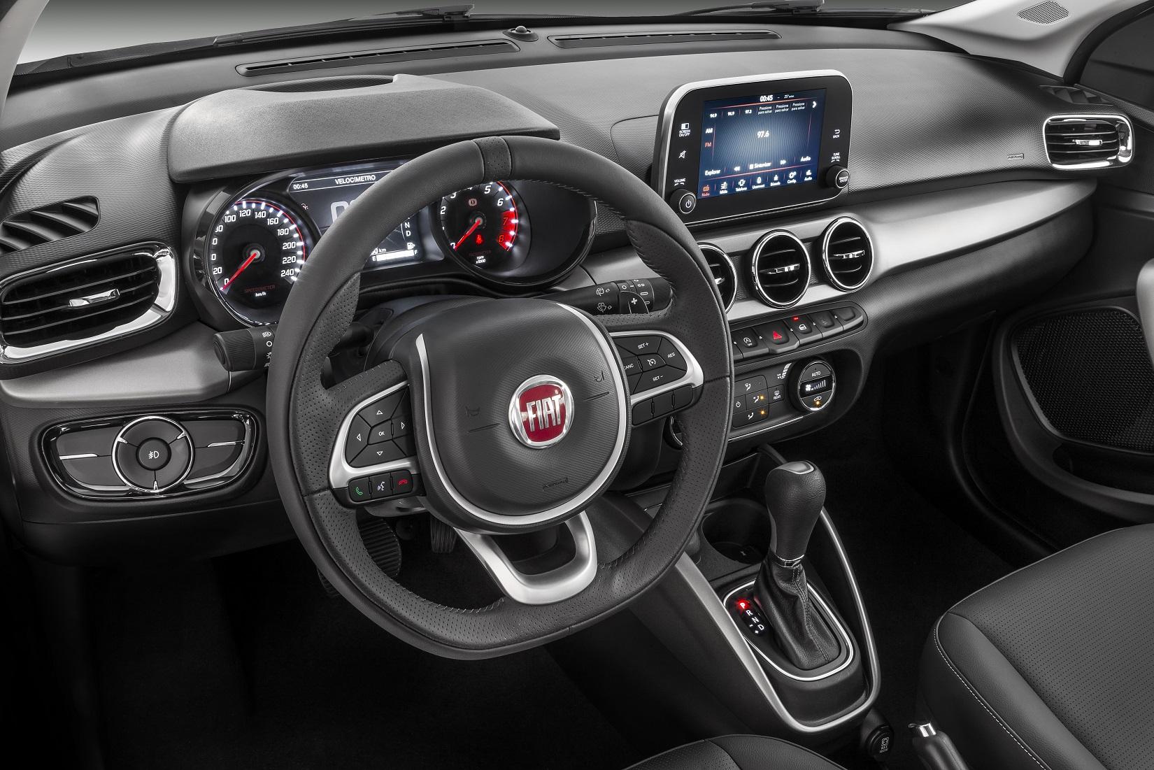 Fiat Argo Precision tem o mesmo conjunto mecânico, formado por motor 1.0 e câmbio automático, da versão HGT