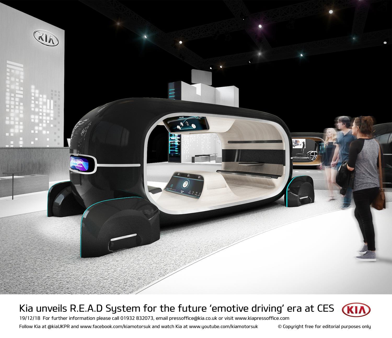 Os carros na CES 2019 terão atenção garantida com o sensor de estado emocional da Kia, o novo CLA da Mercedes, o cinema portátil da Audi, e mais.