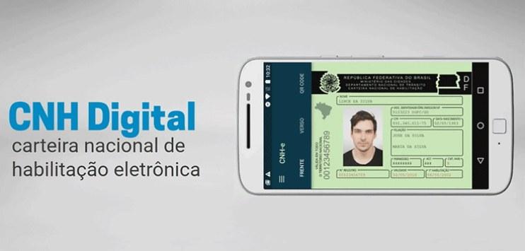 Agora é possível acessar a Carteira Digital de Trânsito por biometria. Além disso, aplicativo apresentará informações atualizadas sobre CRLV e licencimanto.