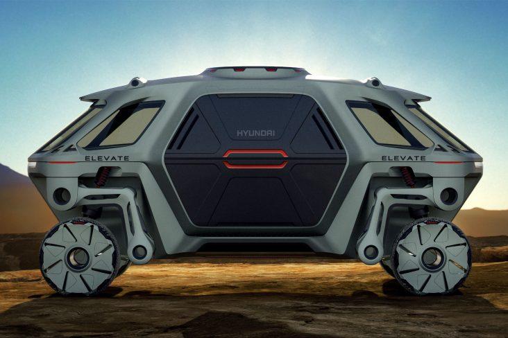 hyundai elevate concept conceito carro quatro patas