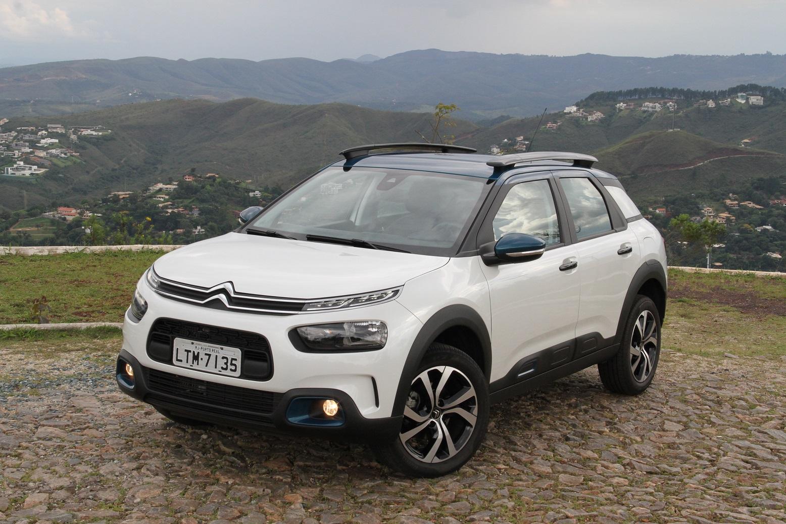 O Citroën C4 Cactus chegou ao Brasil no ano passado.
