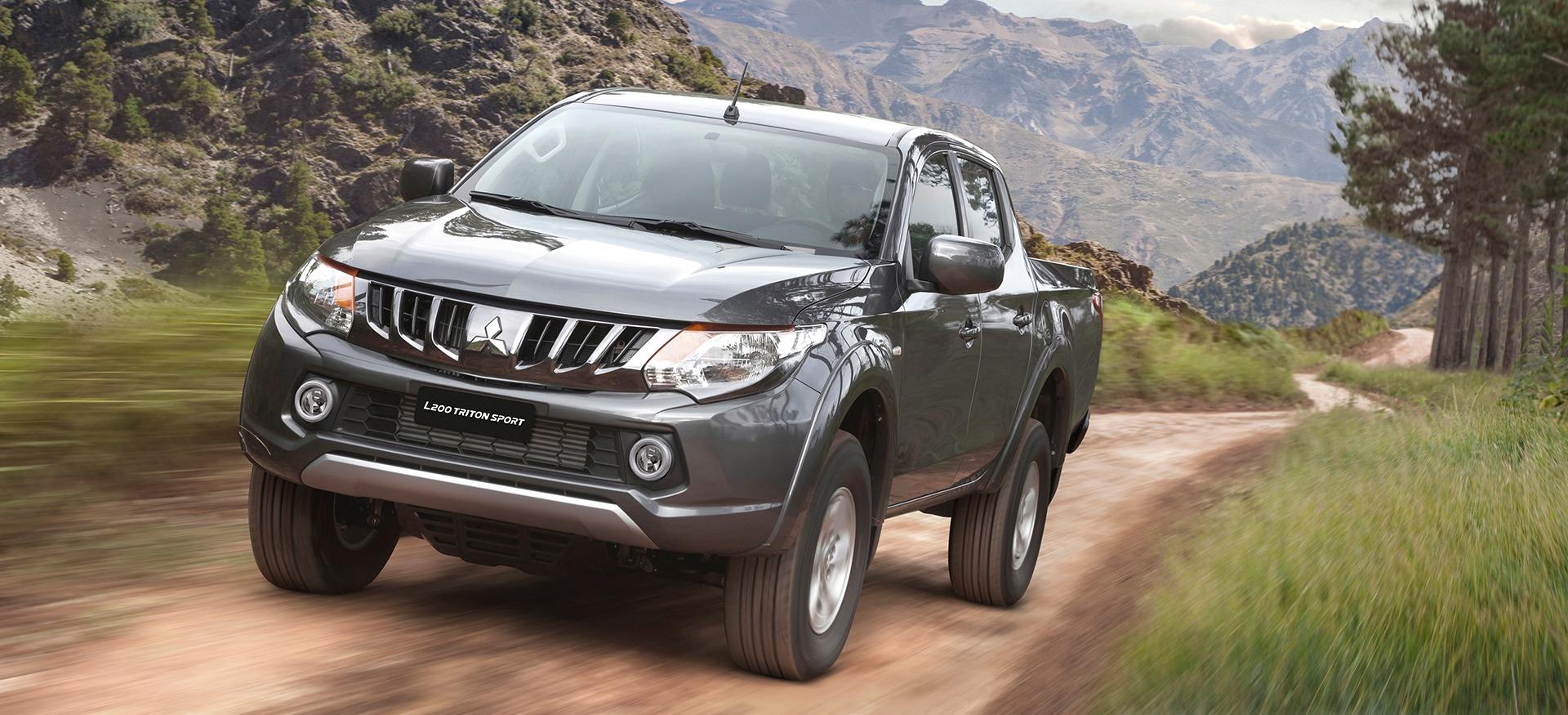 Capacidade de carga:: Mitsubishi L200 Triton Sport carrega 1.055 kg