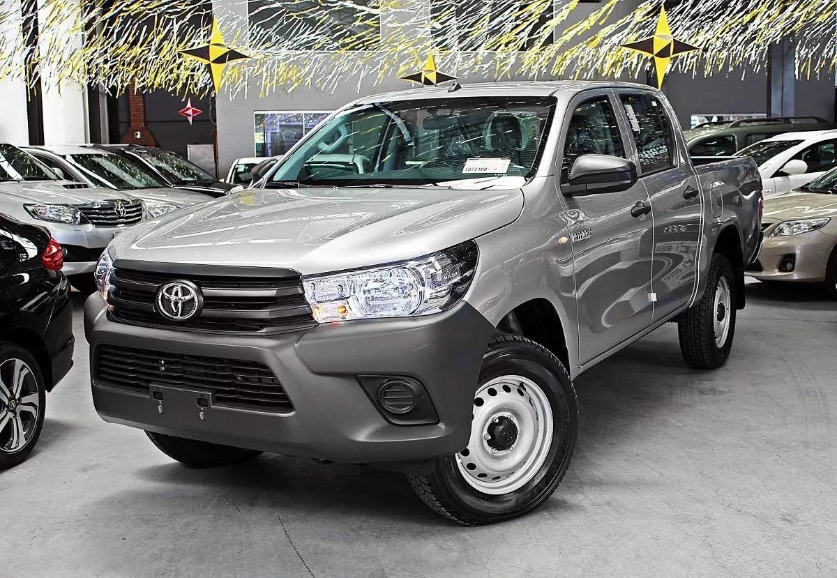 Capacidade de carga: Toyota Hilux STD Narrow carrega 1.035 kg