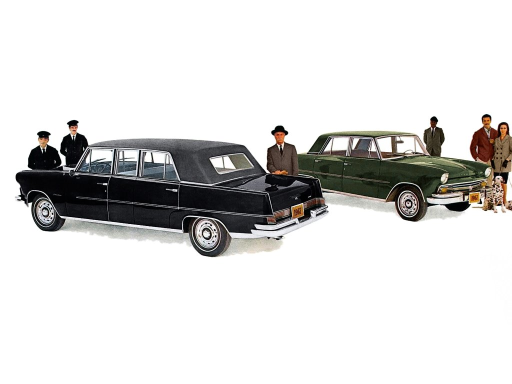 Carros raros fabricados no Brasil: Willys Itamaraty Executivo