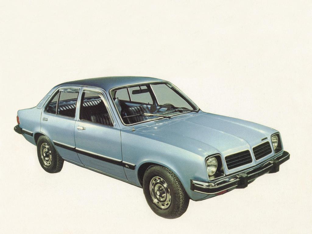 Carros raros fabricados no Brasil: Chevrolet Chevette 4 portas