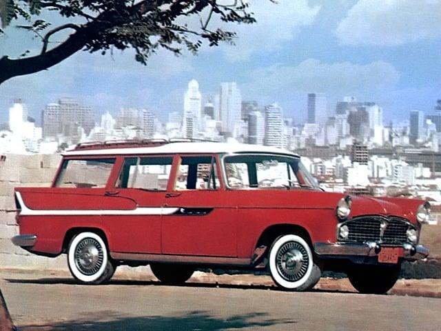 Carros raros fabricados no Brasil: Simca Jangada