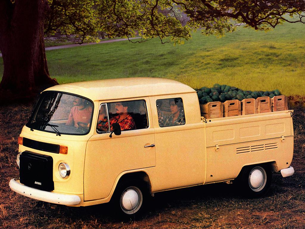 Carros raros fabricados no Brasil: Volkswagen Kombi pick-up cabine dupla