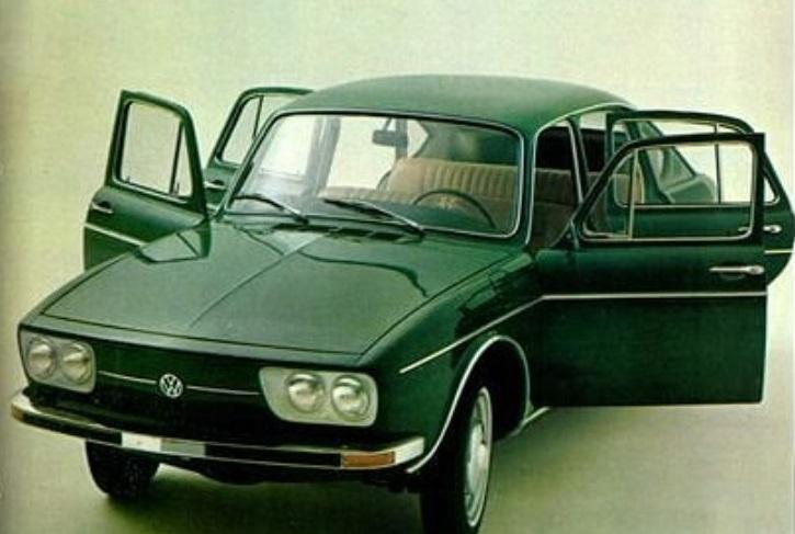 Carros raros fabricados no Brasil: Volkswagen TL 4 portas