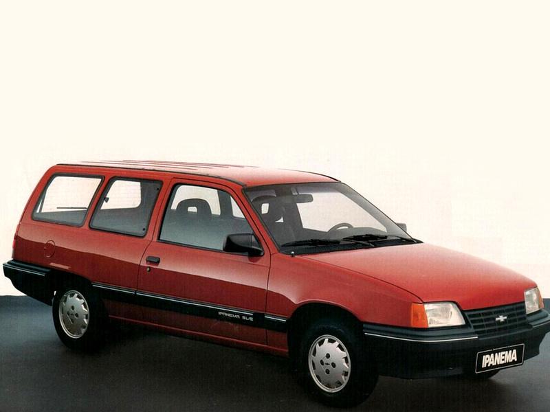 Chevrolet Ipanema é um dos 5 carros nacionais que poderão ter placa preta em 2019