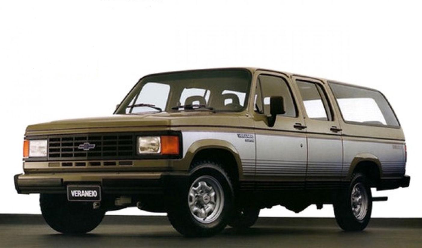 Chevrolet Veraneio de segunda geração é um dos 5 carros nacionais que poderão ter placa preta em 2019