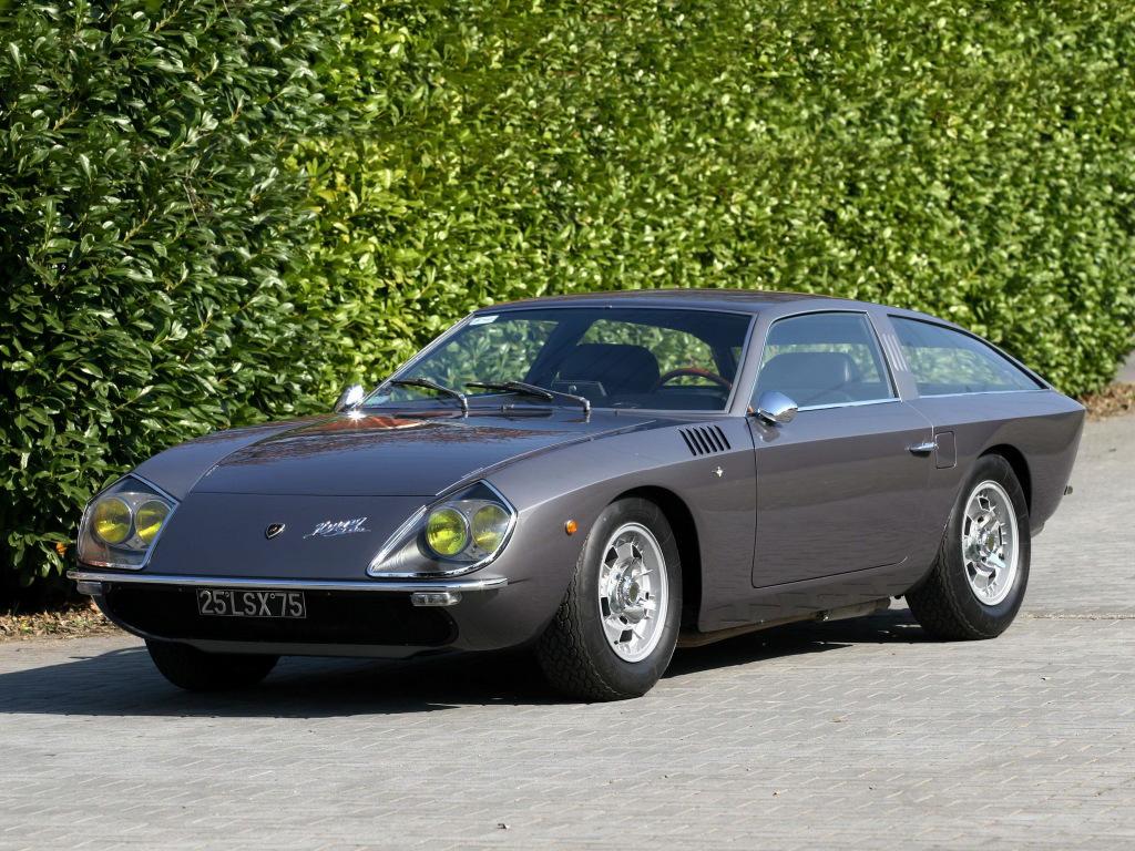 Conceito Flying Star II, da Lamborghini, foi exibido em 1966. Feira anual, Rétromobile 2019 começa em Paris na semana que vem, trazendo pérolas da história automotiva e reunindo fanáticos e especialistas.