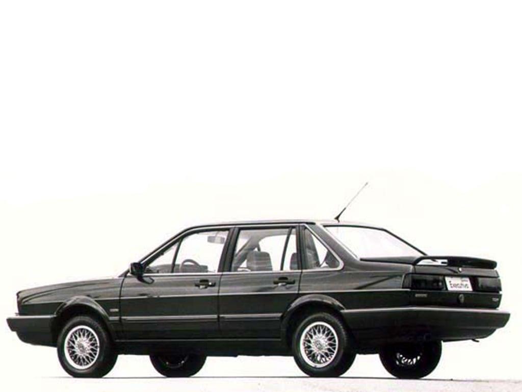 Rodas de liga leve que marcaram época: Volkswagen Santana EX