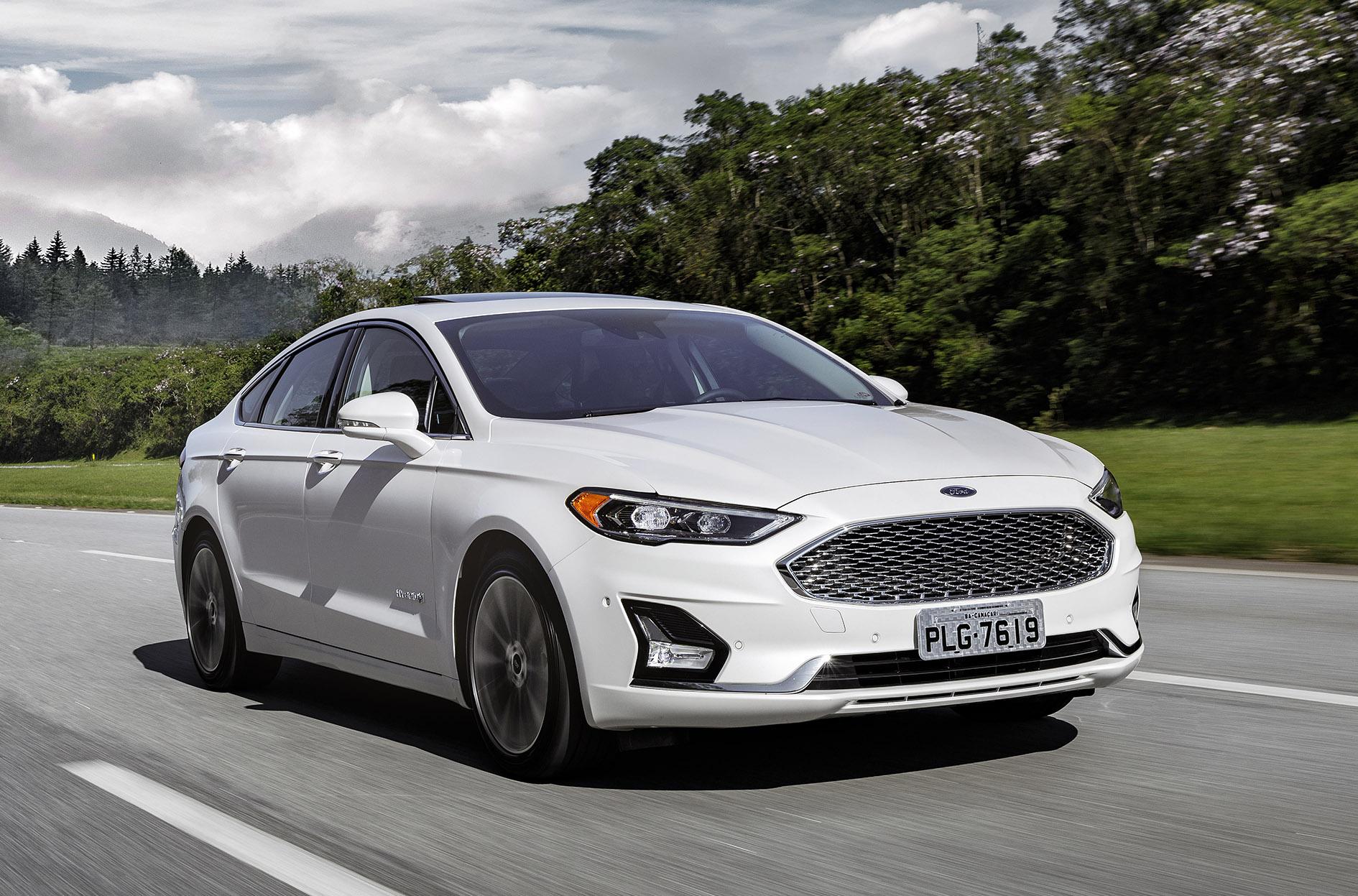 ford fusion 2019 titanium 6 Anúncio do presidente da companhia, no ano passado, já pressagiava mudança extrema na gama de modelos da Ford que, agora, virou realidade.