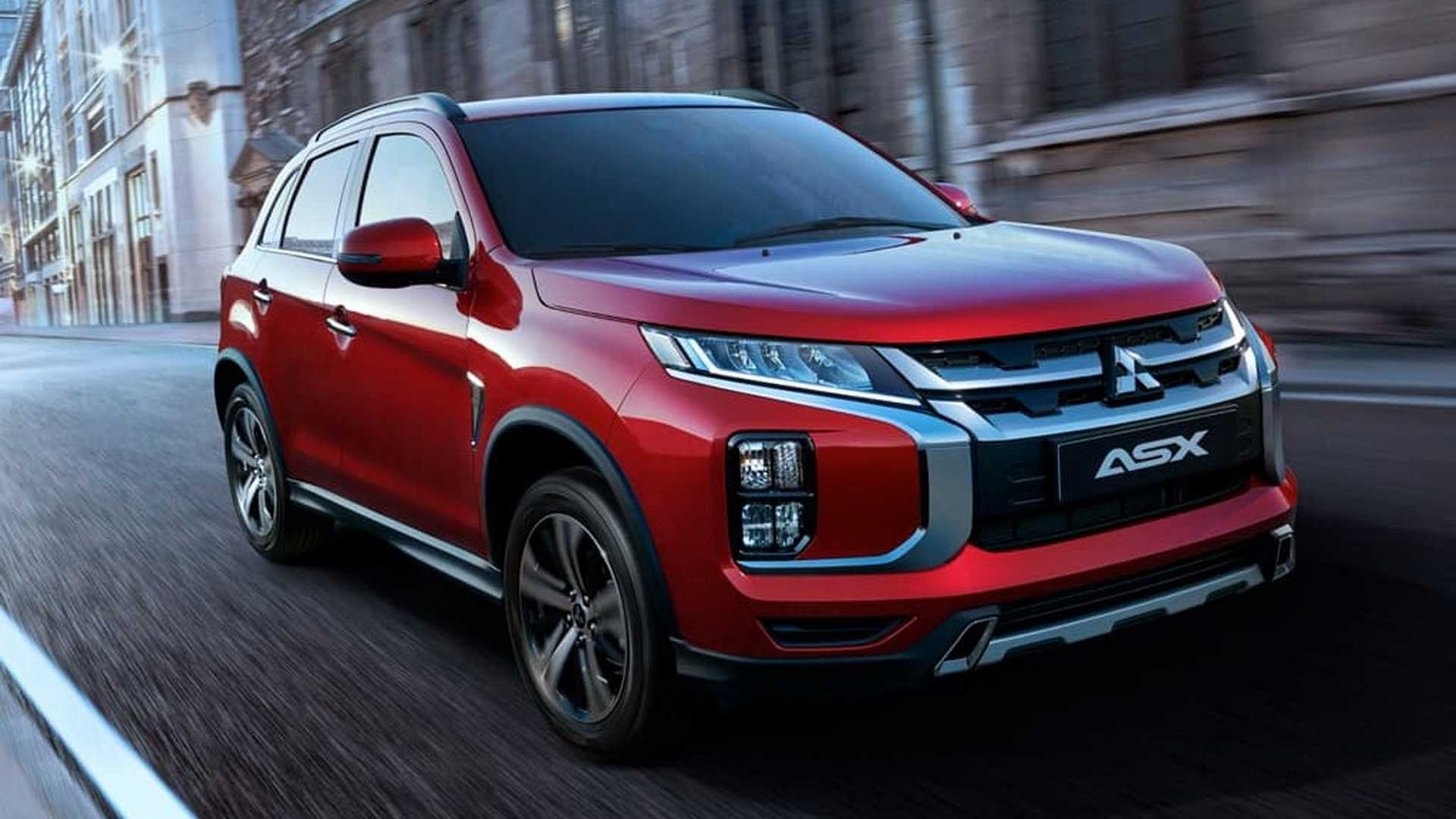 mitsubishi asx 2020  u00e9 apresentado com mudan u00e7as no visual