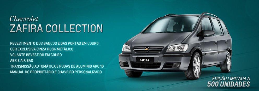Chevrolet Zafira Collection: Na hora de interromper as vendas de carros clássicos, é comum as fabricantes criarem uma edição de despedida para celebrar sua história e suas vendas.