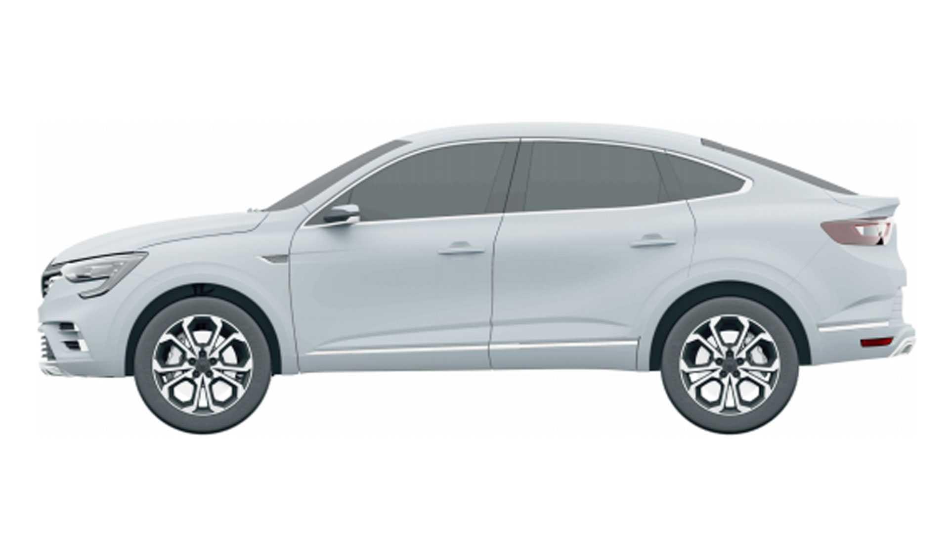 Registro do Renault Arkana no INPI. (INPI | Reprodução)