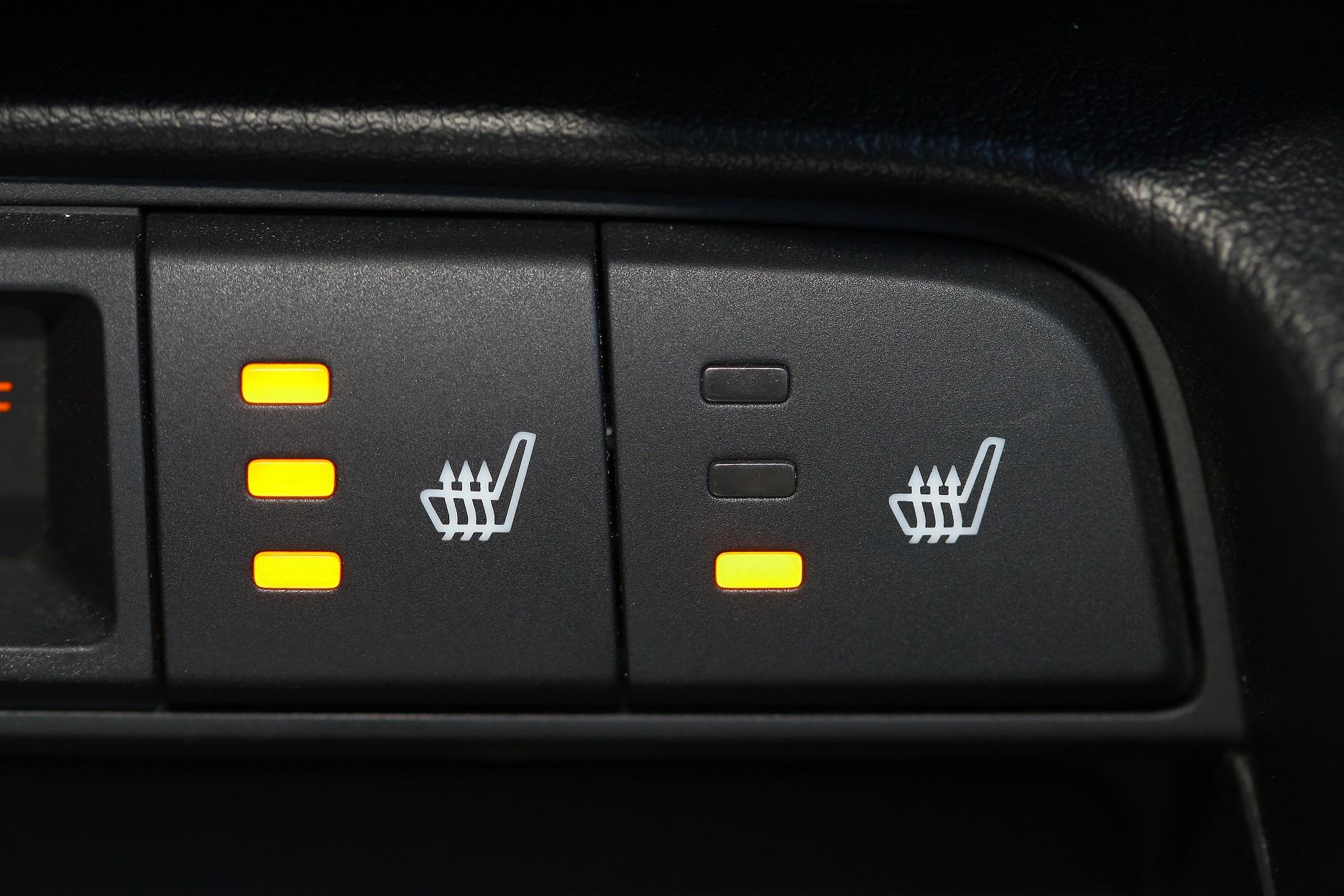 carro com bancos aquecidos aquecedor