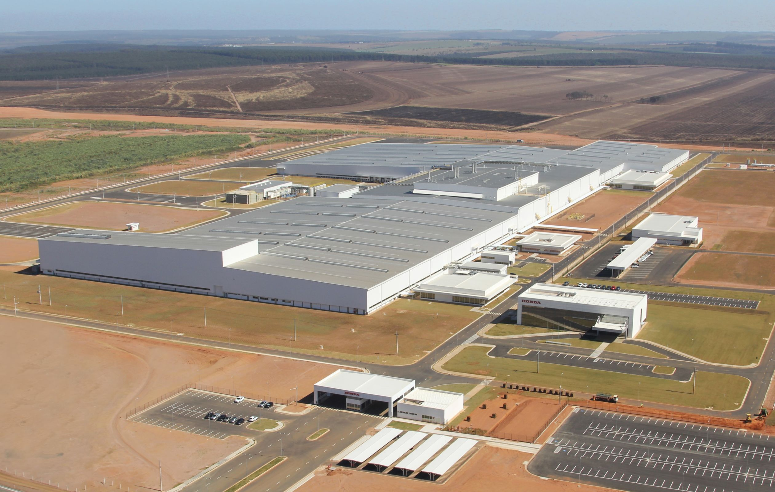 Nova fábrica da Honda no interior de São Paulo