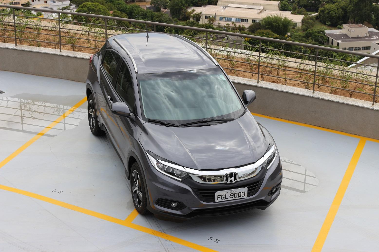 Honda HR-V 2019 teve evolução estética e mecânica