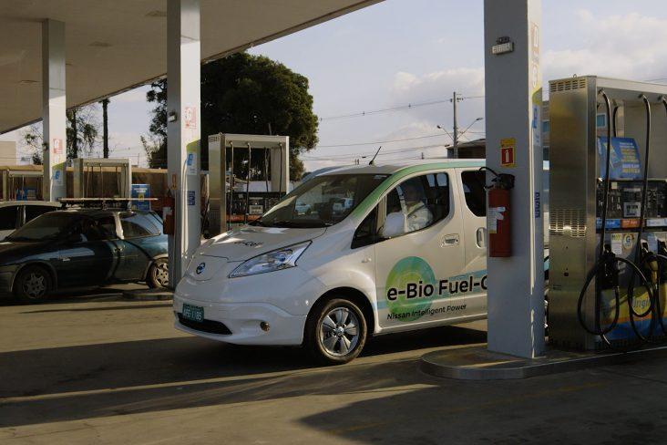 Ideia consiste em extrair o nitrogênio presente no etanol para alimentar a Fuel Cell, que gera energia para movimentar o carro elétrico.