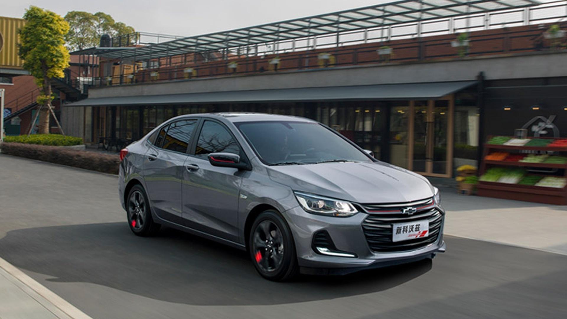 Novo Onix Sedan (ou novo Prisma) já foi apresentado na China