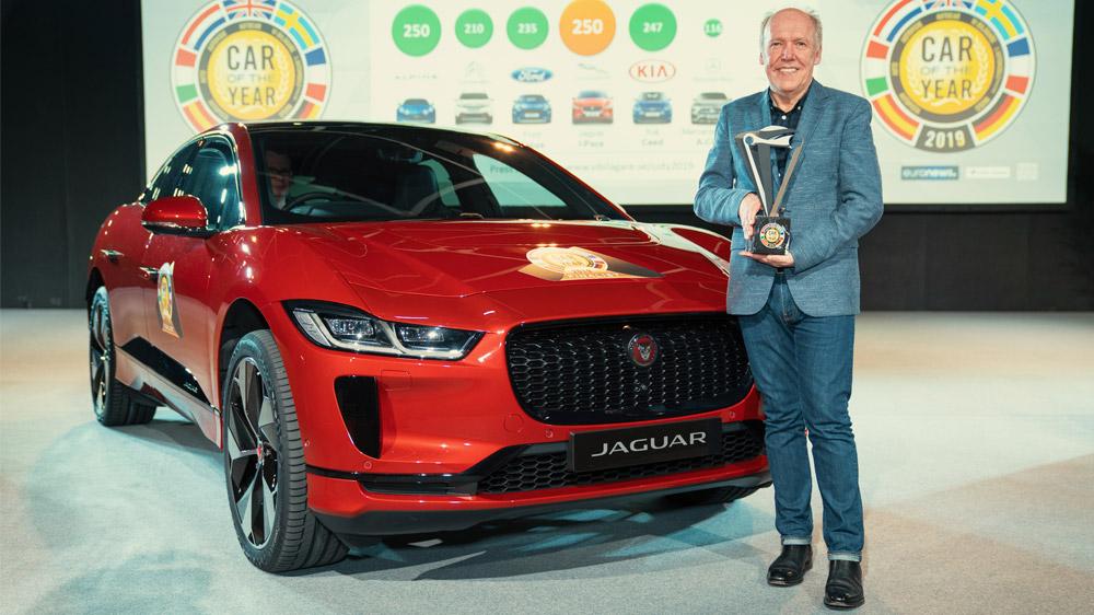 Jaguar I-Pace foi eleito o Car of the Year 2019 por um júri de 60 jornalistas de 23 países europeus