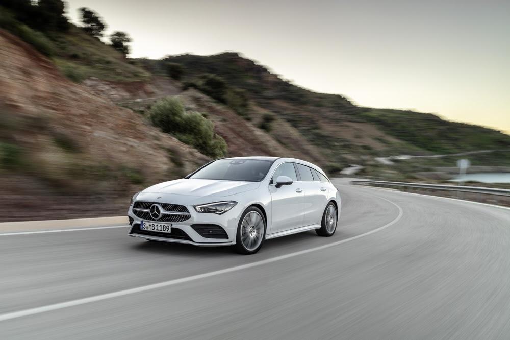 Mercedes CLA Shooting Brake foi revelada durante o Salão do Automóvel de Genebra