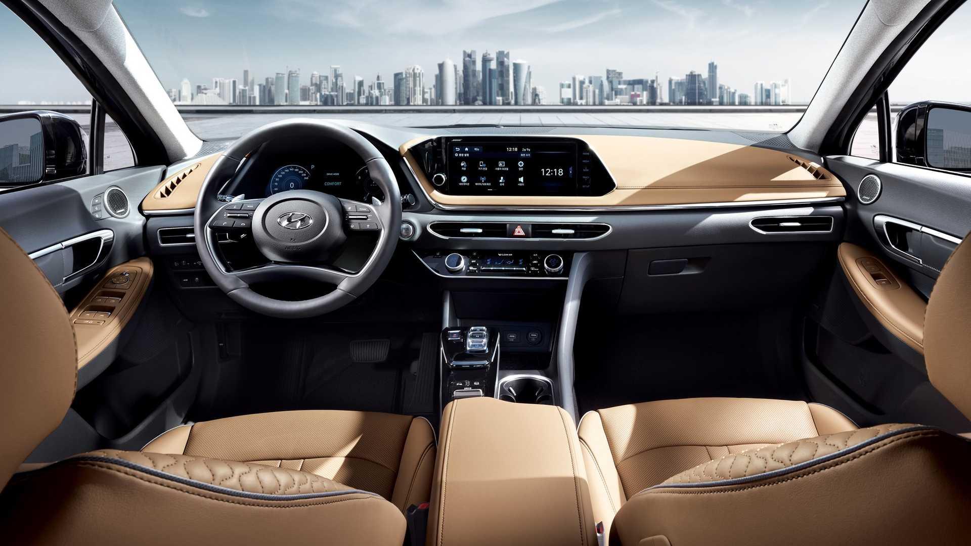 Imagens e alguns detalhes do Hyundai Sonata 2020 foram reveladas pela fabricante. Lançamento oficial deve acontecer no Salão do Automóvel de Nova Iorque.