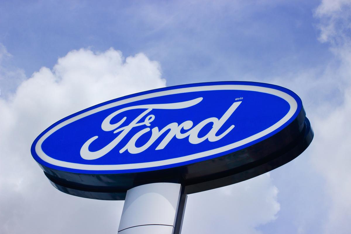 ford logo shutterstock
