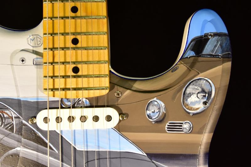 guiatarra fender stratocaster cars of the rock stars 4