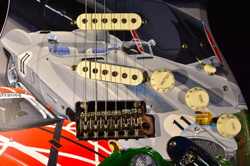 guiatarra fender stratocaster cars of the rock stars 5