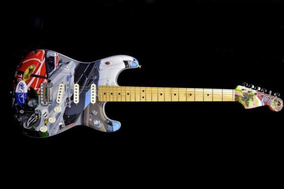 guiatarra fender stratocaster cars of the rock stars 1