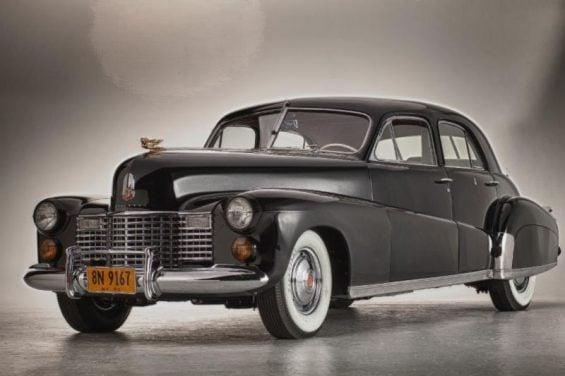 cadillac limousine customizada de 1941 foi o carro da duquesa de windsor foto du steven plunkett