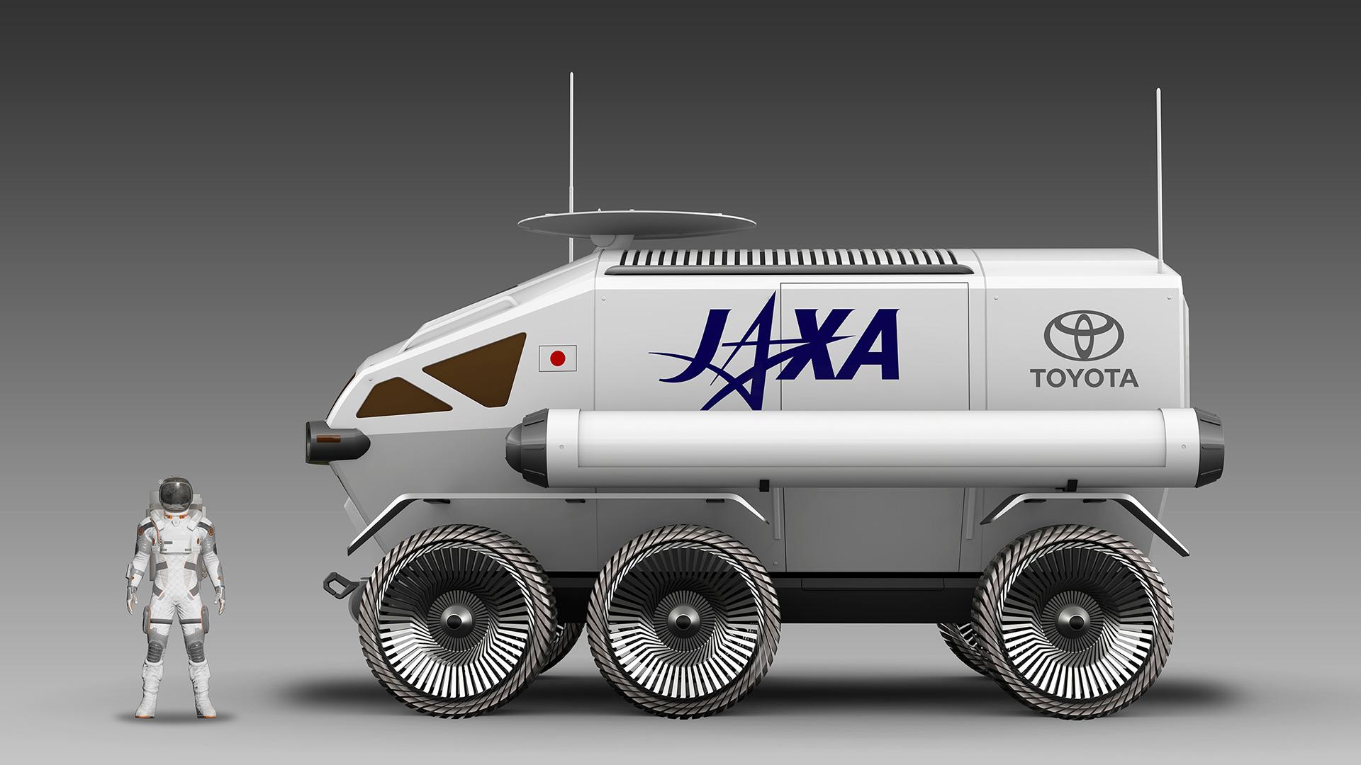Fabricante fechou parceria com agência espacial do Japão JAXA, que quer lançar um veículo lunar tripulado no espaço em 2029.