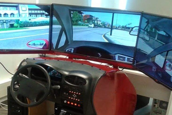 1 simulador autoescola