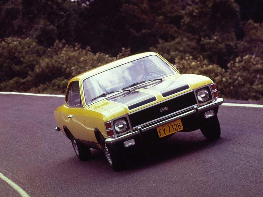 carros esportivos nacionais: Opala SS