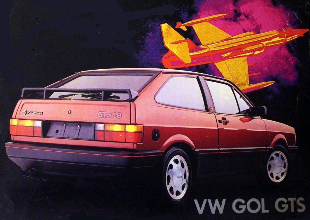 vw-gol-gts Antigos carros esportivos Volkswagen: relembre as siglas famosas