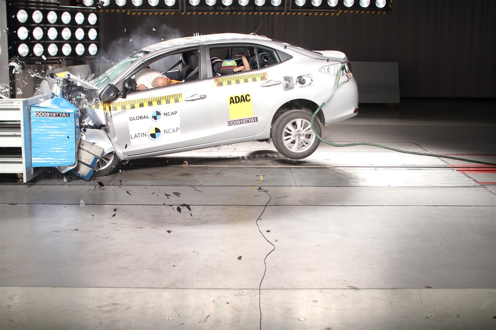 Latin Ncap divulgou o resultado dos testes de impacto de dois modelos lançados recentemente no Brasil: Volkswagen T-Cross e Toyota Yaris.